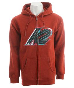 K2 Rainier Full Zip Hoodie Red