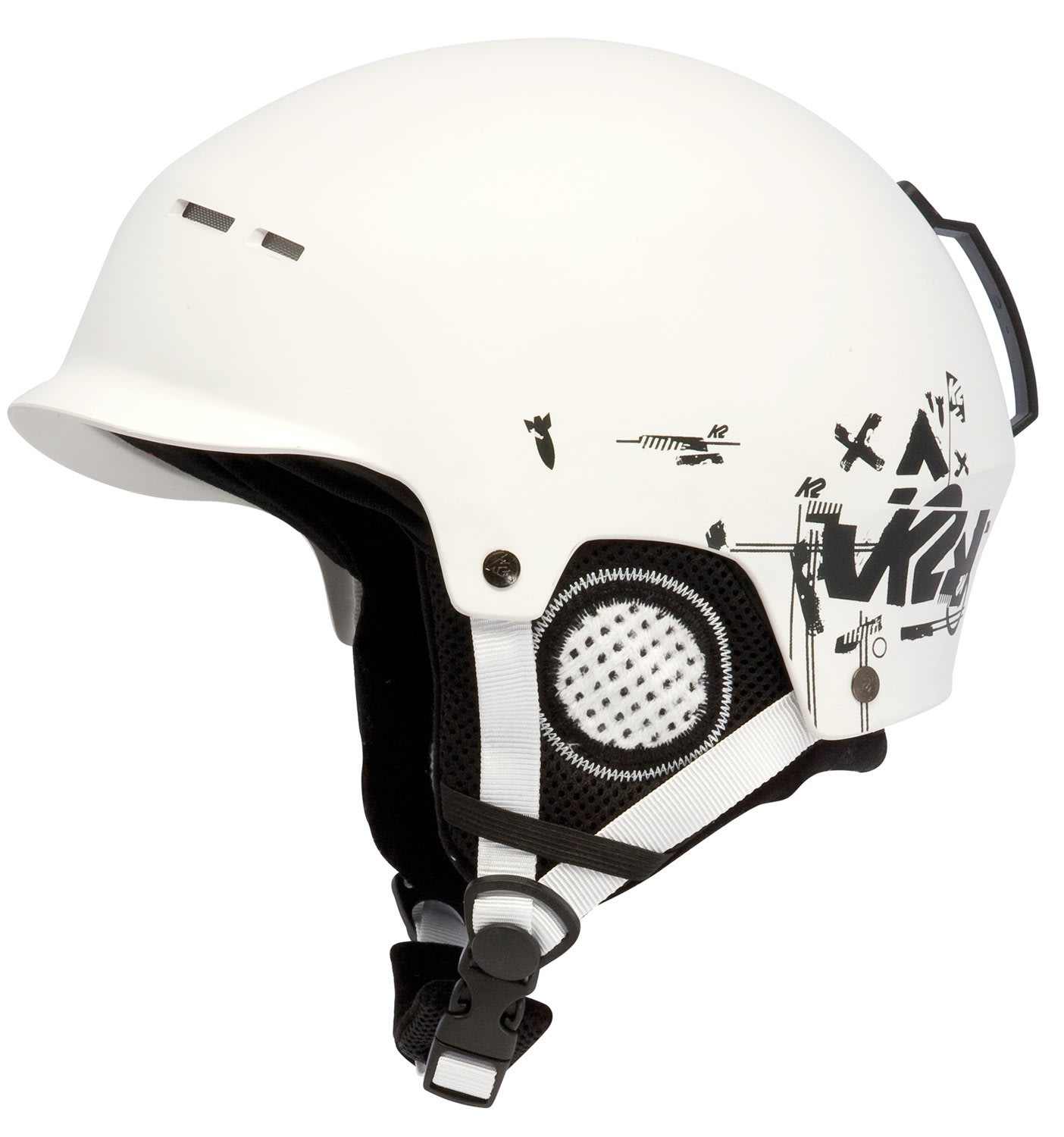 Shop for K2 Rant Ski Helmet White - Men's