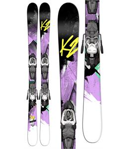 K2 Remedy 75 Jr Skis w/ Marker Fastrak2 7 Bindings