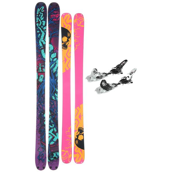 K2 Revival Griffon Schizofrantic Skis w/ Marker Griffon Schizofrantic Bindings