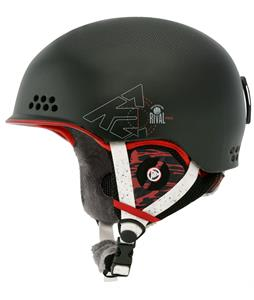 K2 Rival Pro Ski Helmet Black Baller