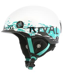 K2 Rival Pro Ski Helmet White Chaos
