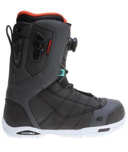 K2 Ryker BOA Snowboard Boots Charcoal