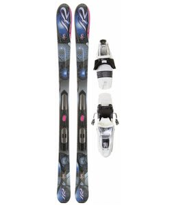 K2 Secret Luv LT Skis w/ Marker ERP 10.0 Bindings