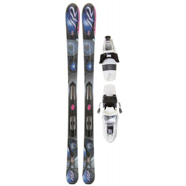 K2 Secret Luv LT Skis w/ Marker ERP 10.0 Bindings