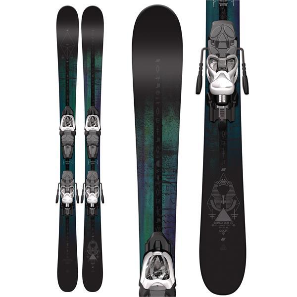 K2 Shreditor 75 Jr Skis w/ Marker Fastrak2 4.5 Binding