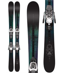 K2 Shreditor 75 Jr Skis w/ Marker Fastrak2 7 Bindings