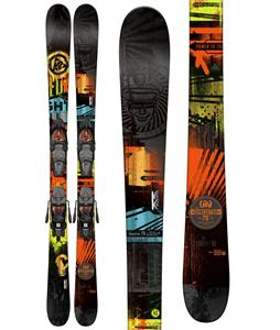 K2 Shreditor 75 Jr Skis w/ Marker Fastrack2 4.5 Bindings