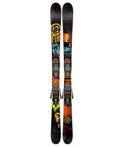 K2 Shreditor 75 Jr Skis 149 w/ Marker Fastrak2 7 Bindings
