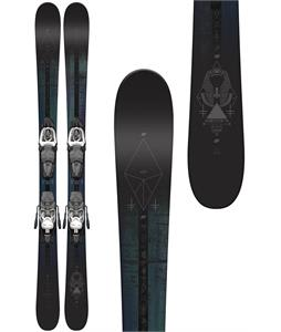 K2 Shreditor 75 Jr Skis w/ Marker Fastrak2 7 Bindings