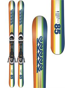 K2 Shreditor 85 Jr Skis w/ Marker Fastrak2 7 Bindings