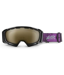 K2 Sira Goggles Black/Brown Biopic