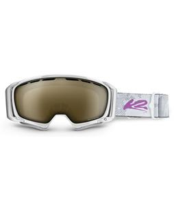 K2 Sira Goggles White/Brown Biopic