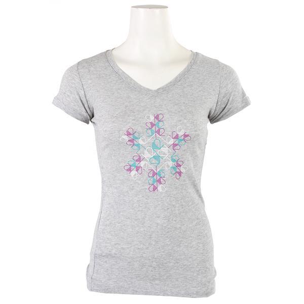 K2 Snowflake V-Neck T-Shirt