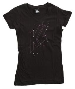 K2 Solar V Neck T-Shirt Black