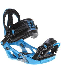 K2 Sonic Snowboard Bindings Blue