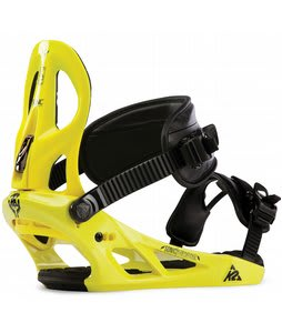 K2 Sonic Snowboard Bindings Yellow