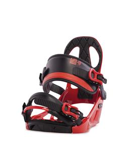 K2 Sonic Snowboard Bindings Red