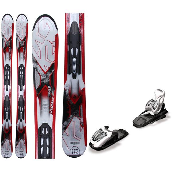 K2 Strike Jr Skis w/ Marker Fastrak2 4.5 Bindings