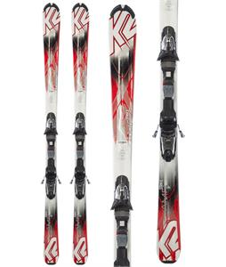 K2 Strike Skis w/ Marker Fastrack3 10 Bindings