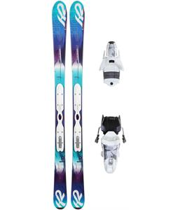 K2 Super Inspire Lt Skis w/ Marker ERP 10 Bindings