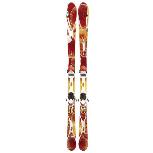 K2 Superburnin Skis w/ Marker ERS 11.0 TC Bindings