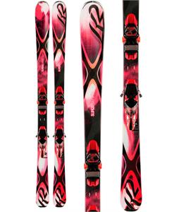 K2 Superbernin 74 Skis w/ Marker ERC 11 TC Bindings