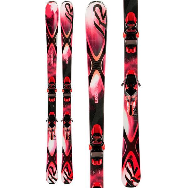 K2 Superbernin 74 Skis w/ Marker ERC 11 TC Bindings