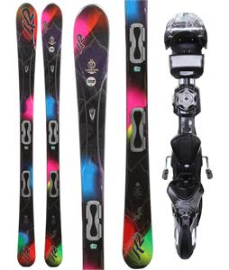 K2 SuperBurnin Skis w/ Marker ERS 11.0 TC Demo Bindings