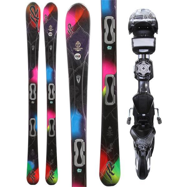 K2 SuperBurnin Skis w/ Marker ERS 11.0 TC Demo Bindings