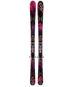 K2 Superfree 76 Skis w/ Marker ER3 10 Bindings
