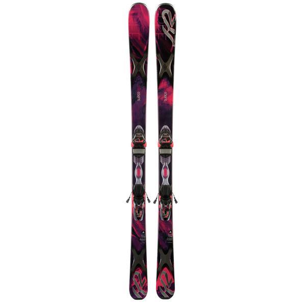 K2 Superfree 76 Skis w/ Marker ER3 10 Bindings