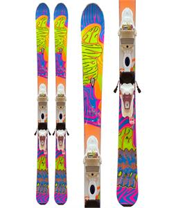 K2 Superfree LTP 70's 50th Anniversary Skis w/ Marker ER310.0 Bindings