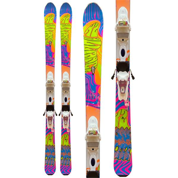 K2 Superfree LTP 70s 50th Anniversary Skis w/ Marker ER310.0 Bindings