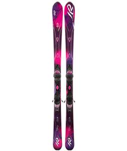 K2 SuperFree Skis w/ Marker ER3 10.0 Demo Bindings
