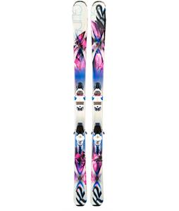 K2 Superglide 80 Skis w/ Marker ERC 11 TC Bindings