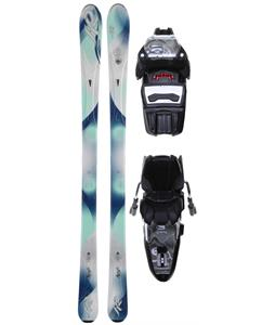 K2 Superific Skis w/ Marker ER3 10.0 Demo Bindings