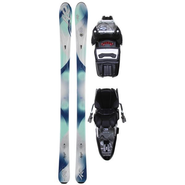 K2 Superific Skis w/ Marker ER3 10.0 Demo Bindings