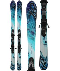 K2 Supersmooth Skis w/ Marker Fastrak3 10 Bindings