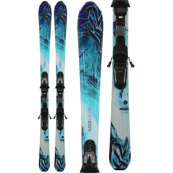 K2 Supersmooth Skis w/ Marker Fastrak3 10 Bindings