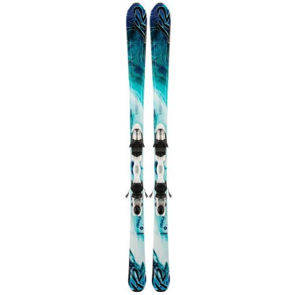 K2 Supersmooth 72 Skis w/ Marker Erp 10 Bindings