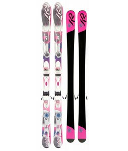 K2 Supersweet Skis w/ Marker Er3 10.0 Bindings