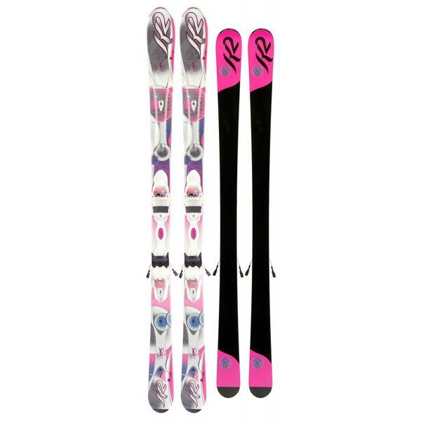 K2 Supersweet Skis w/ Marker Er3 10.0 Bindings