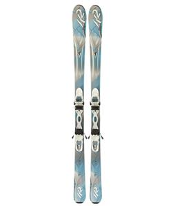 K2 Supersweet Skis w/ Marker ER3 10.0 Demo Bindings