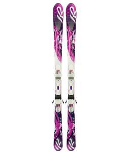 K2 Supersweet 74 Skis w/ Marker Er3 10 Bindings