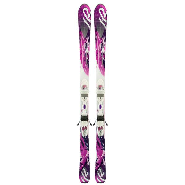 K2 Supersweet 74 Skis w/ Marker Er3 10 Bindings