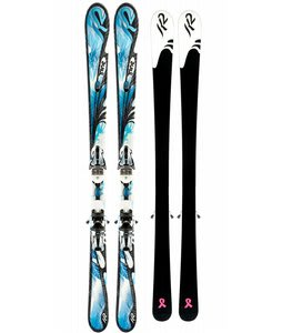 K2 Tru Luv Skis w/ Marker Earp 10 Bindings
