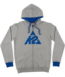 K2 Triangle Logo Full-Zip Hoodies Athletic Heather