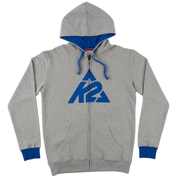 K2 Triangle Logo Full-Zip Hoodie