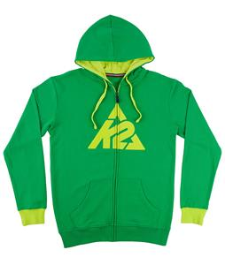 K2 Triangle Logo Full-Zip Hoodies Fern